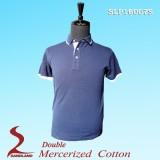 100% Cotton double mercerised polo shirt