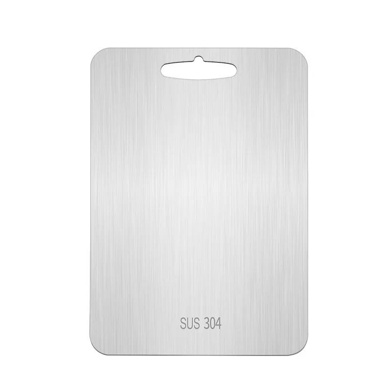 Refined Stainless Steel Cutting Board