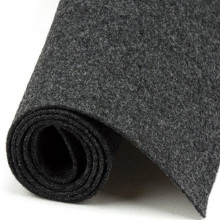 Different color mixed nonwoven cotton polyester felt