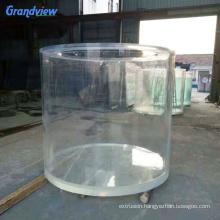 high transparency plexiglass cylinder aquarium glass