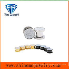 Body Jewelry Stainless Steel Millstone Ear Plug