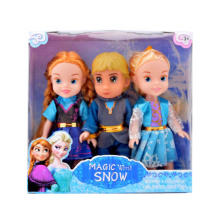Girl Favorite 6 Inch Plastic Frozen Toy Little Doll (10241459)