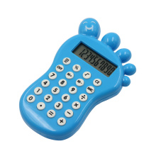 8 chiffres Cute Foot Shape Calculator with Maze Game
