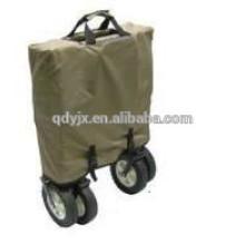 pliant metal shopping chariot quatre roues TC1808-2
