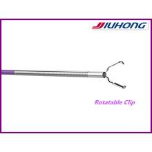 Clipe de hemostasia endoscópica de aço inoxidável de uso único 11mm / Hemoclip
