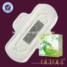 Non woven disposable and breathable multi-functional sanitary pad