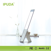 2017 hot selling modern design aluminium led table lamp led desk lamp with night