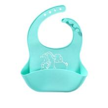 Nettes Silikonfütterungslätzchen für Babykinder