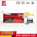 cámara con pantalla LCD helicóptero rc con gyro 3CH aleación moda w / alta definición