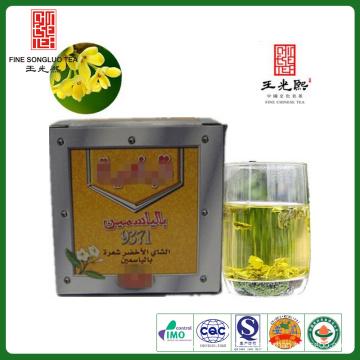 O chá da desintoxicação do chá da flor do jasmim bebe a mais baixa pressão sanguínea