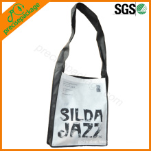 Eco friendly non woven shoulder leisure bag with personalized print