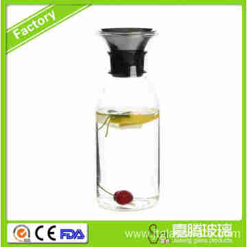 Cold Resistant Glass Coffee Pitcher Fine Quality