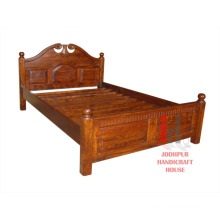 Wooden Hand carved Bed