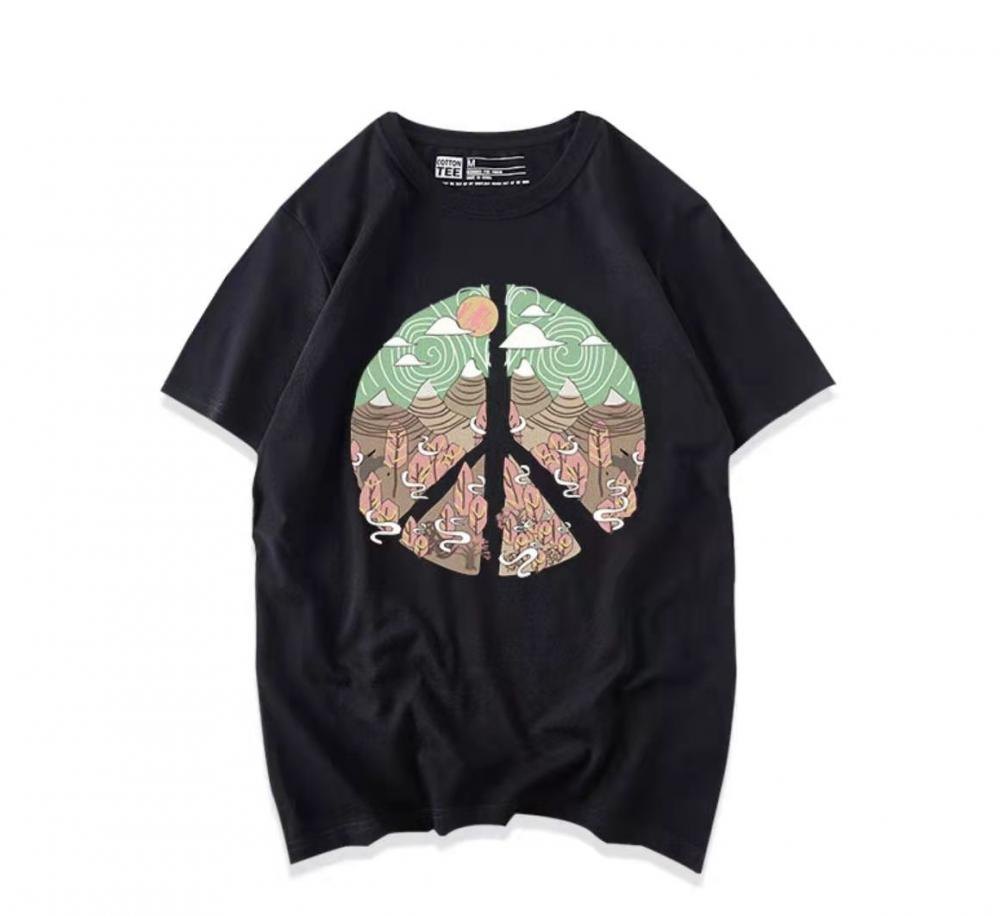 T-Shirt With Printed