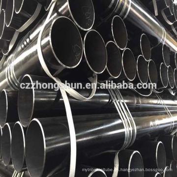 Astm a106 gr. B tubo transparente asme b36.10 pe