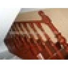 Suporte de corrimão de corrimão de carvalho vermelho para madeira