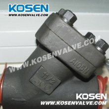 Y Type Piston Check Valve 800lb A105n