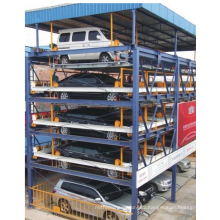Two Storey with Pit Car Board Roll Forming Machine-Bosj-P