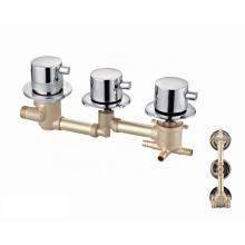 OEM manufacturer standard brass shower panel thermostatic faucet