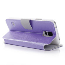 Leather Silk Lined Phone Case for Samsung Galaxy S5