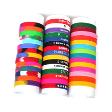 2016 Colorful Cheap Rubber Band Silicone Wrist Band