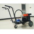 Máquina da marcação da linha da estrada do pulverizador da pressão do impulso da mão