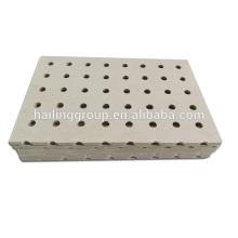 Panneau de ciment perforé insonorisant 6mm