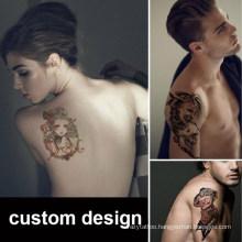 Tattoo Stickers Waterproof Men Women Durable Korean 3D Simulation Tattoo Stickers Flower Arm Body Big Flower Arm Back Tattoo Stickers