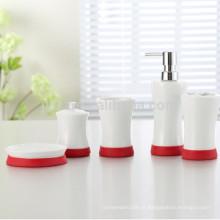 conjunto de accesorios de baño