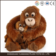 Custom Orangutan Stuffed Animals Plush Hanging Monkey