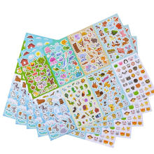 Assortment Set 1300 PCS 8 Themes Collection Animal Sticker Sheets for Kids Children