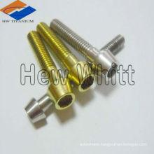 titanium tapered socket head bolts