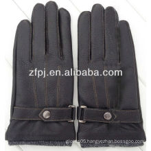 Men's deerskin gloves 3m thinsulate lining