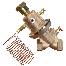 Válvula de controle de pressão diferencial auto-atuada DN20