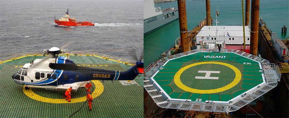 helicopter platform Non-slip net