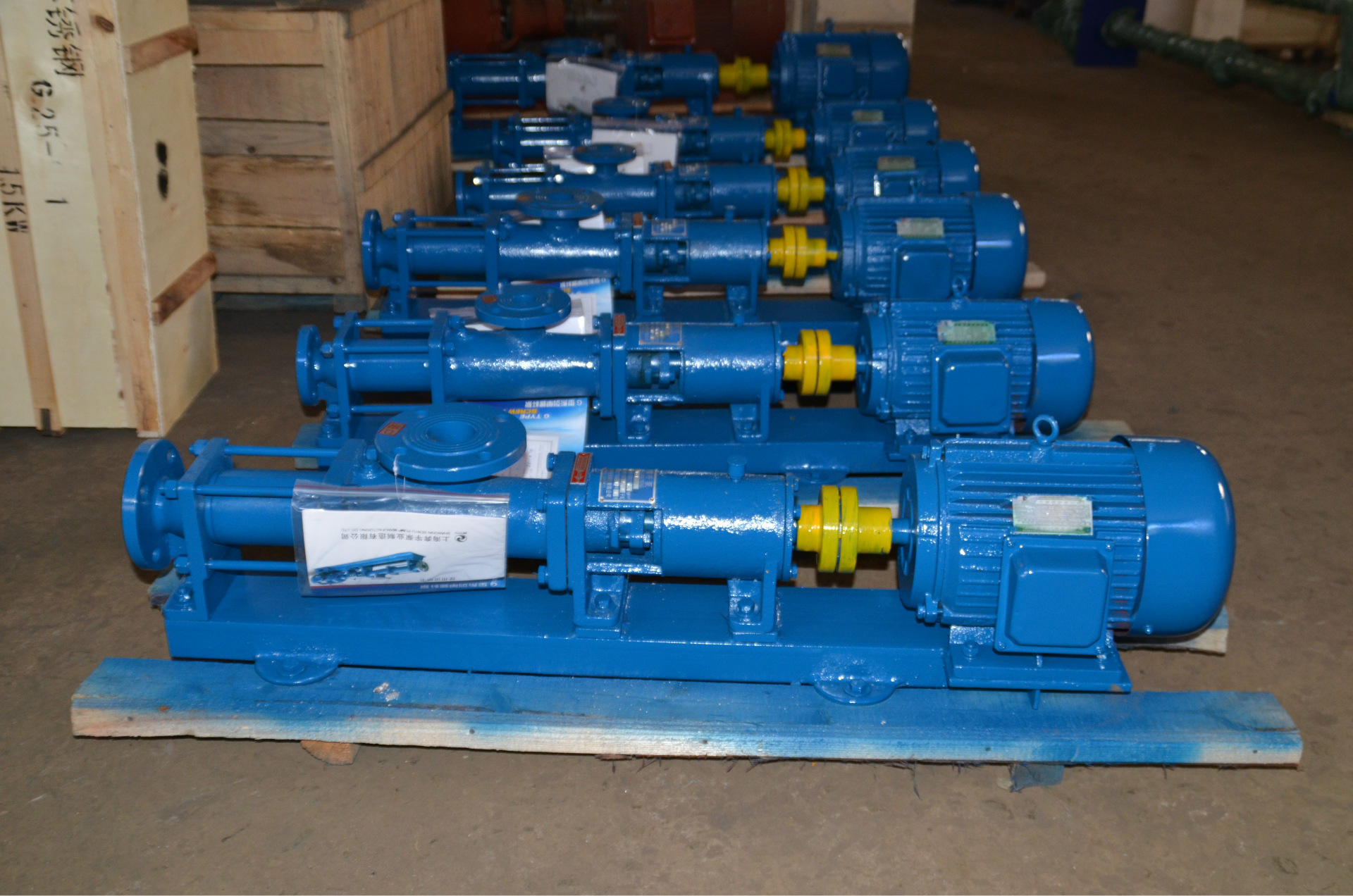 I-1B series thick slurry pump (whole stainless steel) corrosion resistant thick slurry pump 5