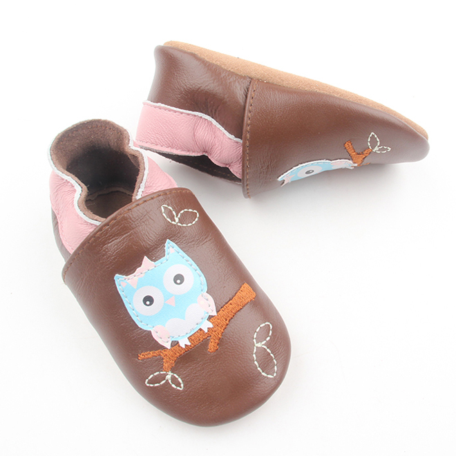Soft Leather Baby Loafer Toddler Shoes
