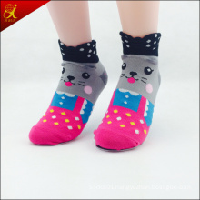 2015 Cute Animal 3D Knitted Socks