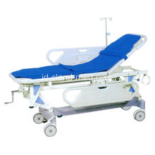 Harga Pabrik Medical Emergency Luxurious Stretcher Bed