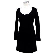 Grandeur Slim Cut Black Fashion Dress