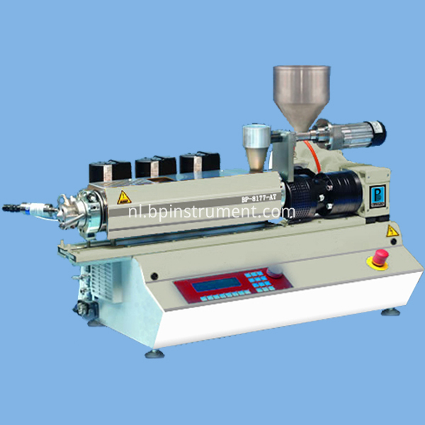 Uitrusting Small Bench Top Twin Screw Extruder