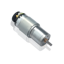 12V Geared DC Motor With Rotary Encoder