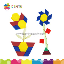 Plastic Mathematics Manipulatives Geometry Pattern Blocks