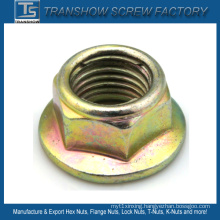 Metal Insert Hex Flange Lock Nut