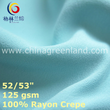 Cotton Rayon Crepe Fabric for Textile Woman Clothes (GLLML434)