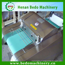 China supplier stainless steel Multi-function spinach cutting machine/leaf vegetable cutting machine 008613253417552
