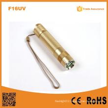 F16UV Money Detector 365nm UV LED Flashlight, LED UV Flashlight