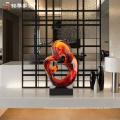 Modern sculpture interior decoration luxury statue for office