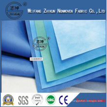 Surgical Gowns Raw Materials Medical PP SMS Nonwoven Fabric
