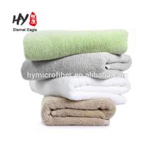 Factory custom logo 100% cotton hotel white bath towels